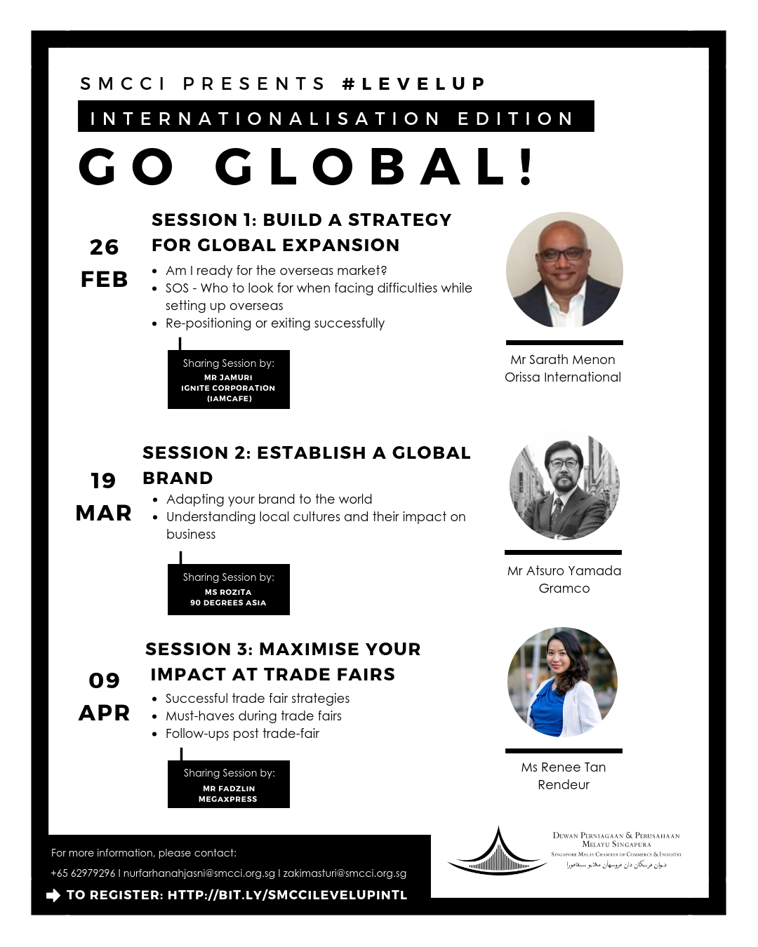 Level Up Go Global Poster